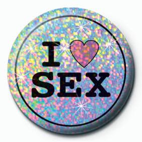 Odznaka I LOVE SEX