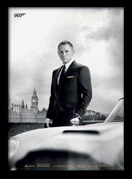 Plakat James Bond (Skyfall) - Bond & DB5
