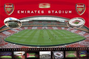 Plakat Arsenal - Emirates