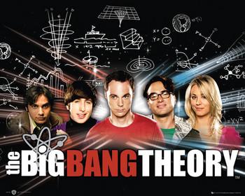 Plakat BIG BANG THEORY