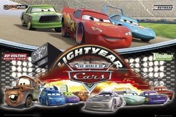Plakat CARS - world of