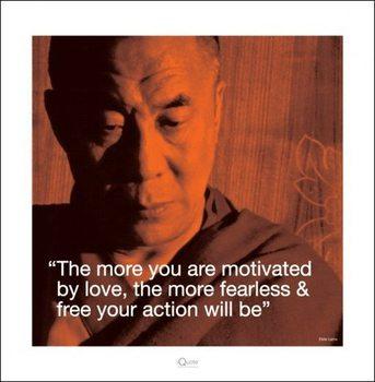 Reprodukcja Dalai Lama - Quote