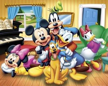 Plakat DISNEY - group