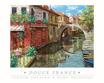 Reprodukcja Douce France
