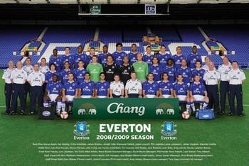 Plakat Everton - Team