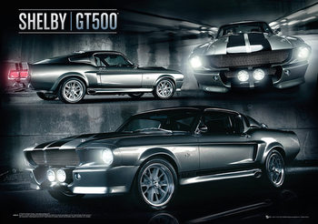 Plakat Ford Shelby - Mustang GT500