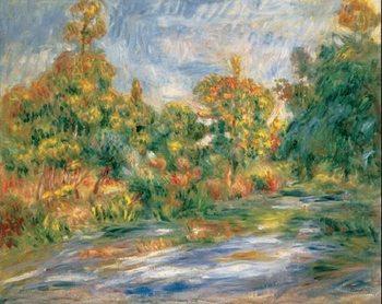Reprodukcja Landscape with River, 1917