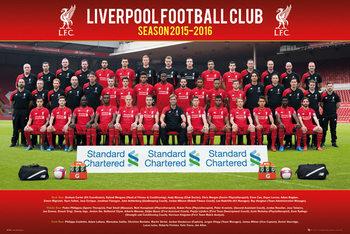 Plakat Liverpool FC - Team Photo 15/16
