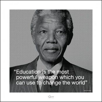 Reprodukcja Nelson Mandela - Quote