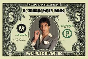 Plakat SCARFACE - dollar