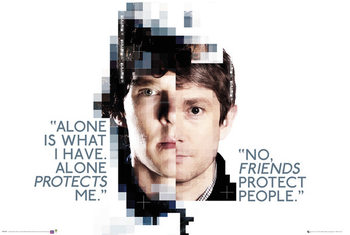Plakat Sherlock - Faces