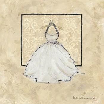 Reprodukcja TAKE ME DANCING IV - white