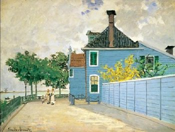Reprodukcja The Blue House, Zaandam