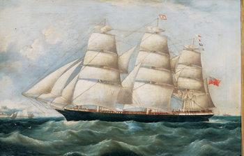 Reprodukcja The Ship Lake Lemon