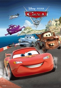 CARS 2 - secret mission posters | photos | images | pictures