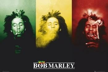 Bob Marley - flag Poster, Art Print