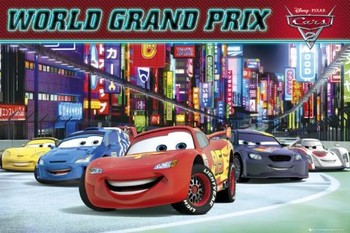 CARS 2 - world grand prix posters | art prints