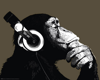 CHIMP - stereo posters | art prints