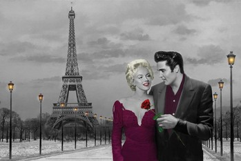 CHRIS CONSANI - paris sunset posters | art prints