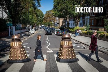 Doctor Who - Abbey Road Poster, Art Print