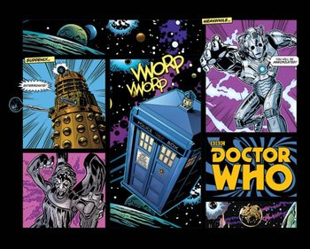 Doctor Who - Comic Layout Poster, Art Print
