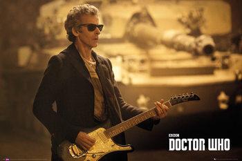 Doctor Who - Guitar Landscape Poster, Art Print