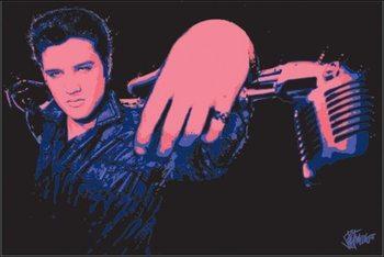 Elvis Presley - Microphone Art Print