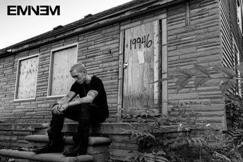 Eminem - LP 2 Poster, Art Print