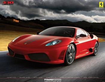 Ferrari - 430 scuderia  Poster, Art Print