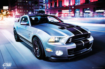Ford Shelby - GT 500 (2014) Poster, Art Print