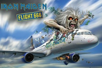 IRON MAIDEN - flight 666 posters | art prints