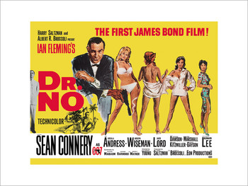 James Bond 007 - Dr No Yellow posters | photos | pictures | images