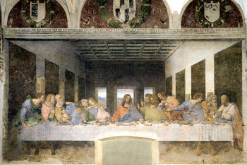 LEONARDO DA VINCI - last supper posters | art prints