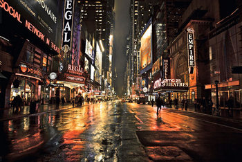 MANHATTAN - 42nd street 2 posters | art prints