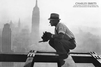 MEN ON GIRDER - charles c.ebbets posters | art prints