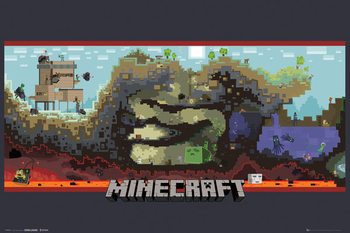 MINECRAFT - underground posters | art prints