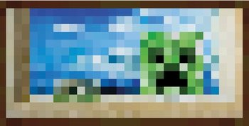 Minecraft - Window Poster, Art Print