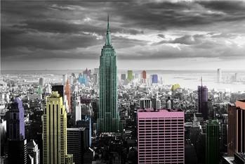 New York - colour splash Poster, Art Print