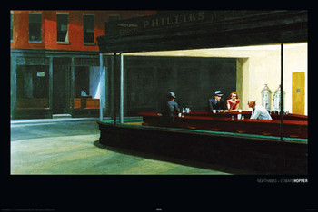 NIGHTHAWKS - edward hopper posters | art prints