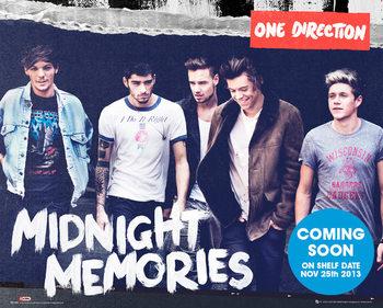 One Direction - Midnight Memories Poster, Art Print