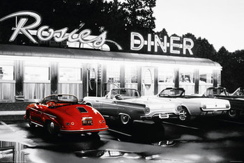 ROSIES DINER posters | art prints