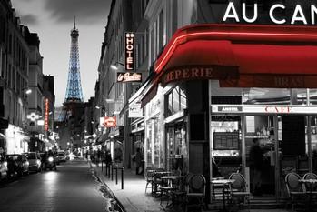 Rue Parisienne Poster, Art Print
