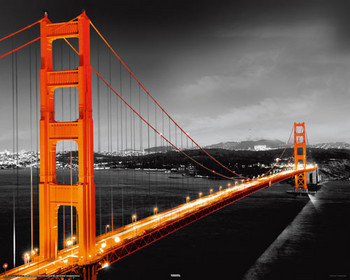 SAN FRANCISCO - golden gate posters | art prints