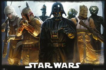 STAR WARS - Bounty Hunters Poster, Art Print