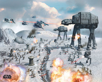 STAR WARS - vehicles hoth posters | art prints