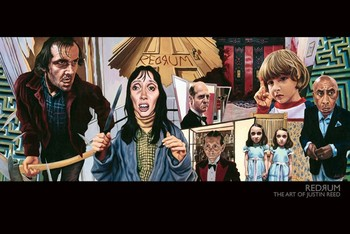 THE ART OF JUSTIN REED - redrum posters | art prints