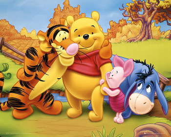 WINNIE THE POOH - friends posters | art prints