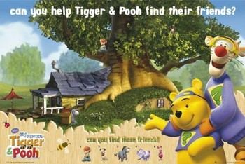 WINNIE THE POOH - tiger and pooh posters | art prints
