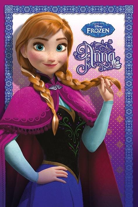 La reine des neiges anna poster affiche acheter le - La reine des neige anna ...
