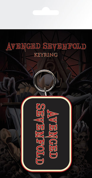 Avenged Sevenfold - Logo Breloczek